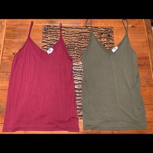 LOT of Old Navy Tanks
